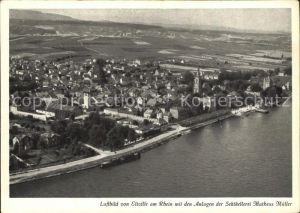 Eltville Rhein Anlagen Sektkellerei Matheus Mueller Luftbild Kat. Eltville am Rhein