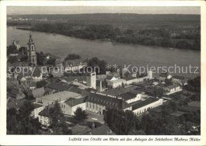 Eltville Rhein Sektkellerei Matheus Mueller Luftaufnahme Kat. Eltville am Rhein