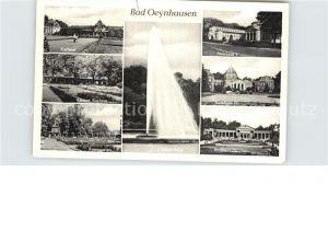 Bad Oeynhausen Kurhaus Kleines Kurhaus Rosengarten Brunnenhalle Badehaus IV und I Kat. Bad Oeynhausen