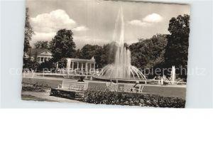 Bad Oeynhausen Wasserspiele und Wasserhalle im Kurpark Kat. Bad Oeynhausen