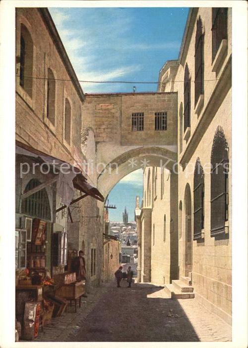 Jerusalem Yerushalayim Ecce Homo Bogen Kat. Israel