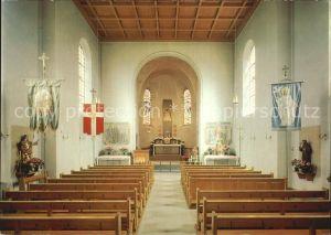 St Pelagiberg Inneres der Wallfahrtskirche Kurhaus Marienburg Kat. St Pelagiberg