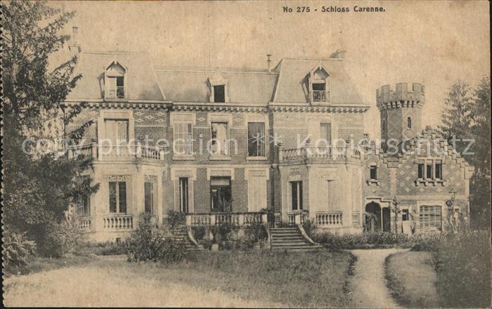 Garennes sur Eure Schloss Kat. Garennes sur Eure