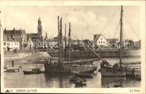Croix de Vie Vendee Port Kat. Saint Gilles Croix de Vie