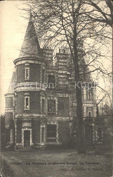 Gagny Chateau de Maison Rouge Kat. Gagny