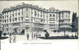 Geneve GE Grand Hotel Beau Rivage Kat. Geneve
