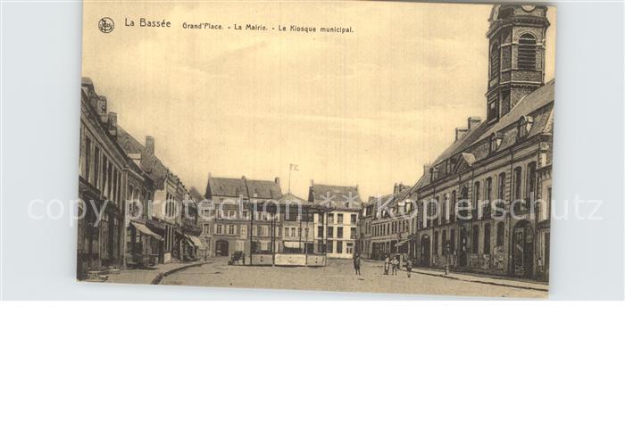 Bassee La Grand Place la Mairie  Kat. La Bassee