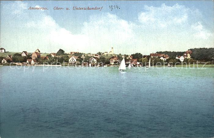 Oberschondorf Unterschondorf Ammersee Kat. Schondorf a.Ammersee