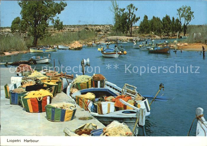 Larnaca Liopetri Harbour Kat. Larnaca Cyprus