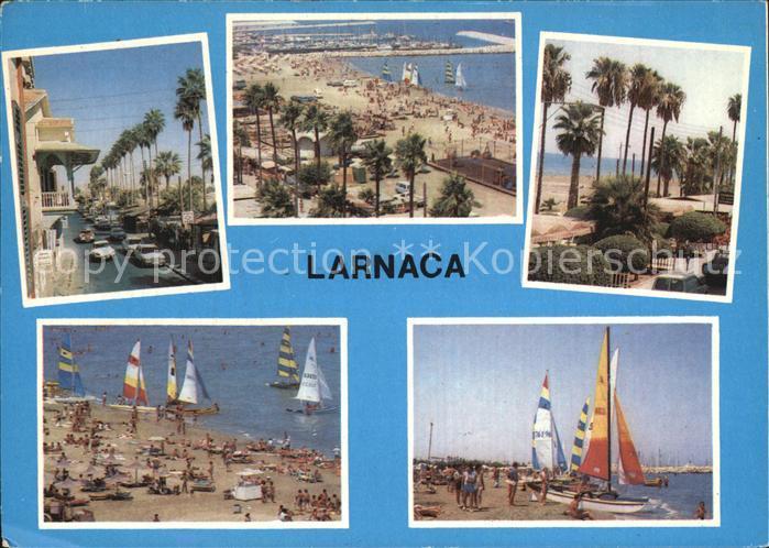Larnaca Strand Ortspartie Kat. Larnaca Cyprus