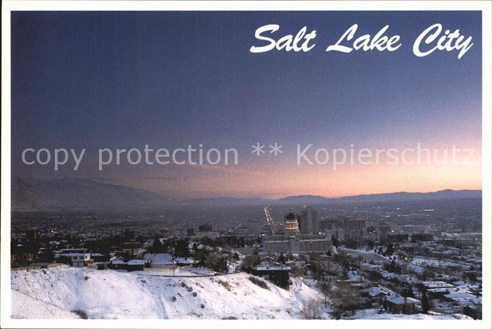 Salt Lake City  Kat. Salt Lake City
