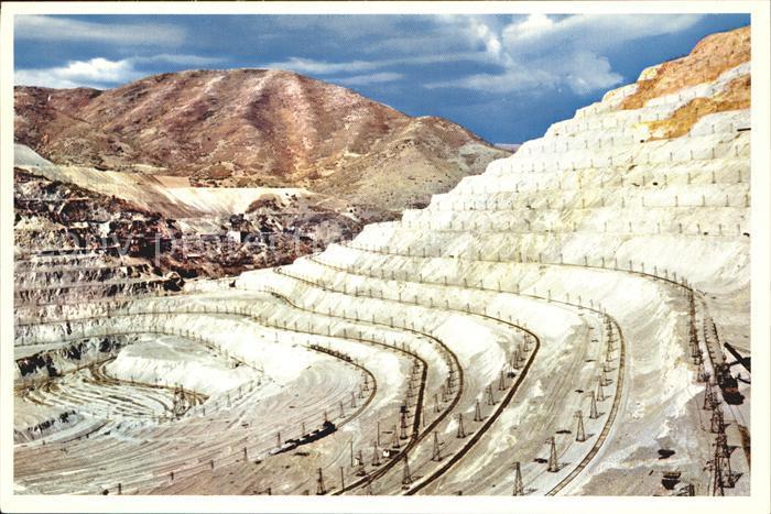 Utah US State Bingham Copper Pit