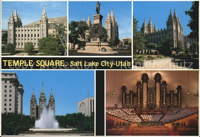 Salt Lake City Temple Square  Kat. Salt Lake City