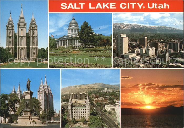 Salt Lake City Scenes from the Crossroads of the West Kat. Salt Lake City