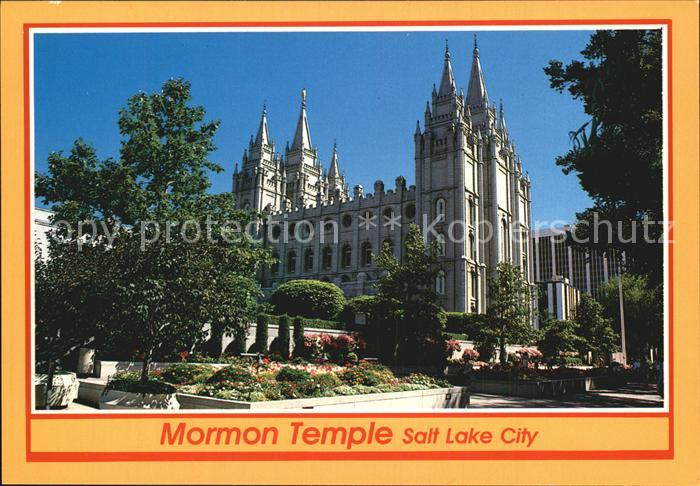 Salt Lake City Mormon Temple Kat. Salt Lake City