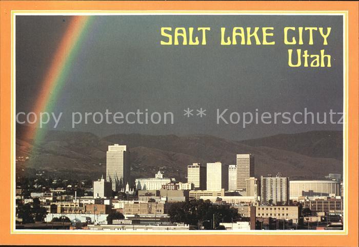 Salt Lake City Skyline Kat. Salt Lake City