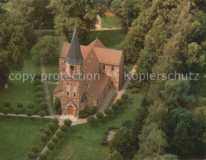 Germershausen Wallfahrtskirche Maria in der Wiese Fliegeraufnahme Kat. Rollshausen