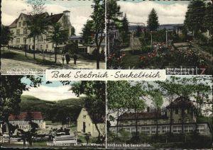 Bad Seebruch Kurhaus Kurpark Bad Senkelteich Rosengarten Kurhaus Kat. Vlotho