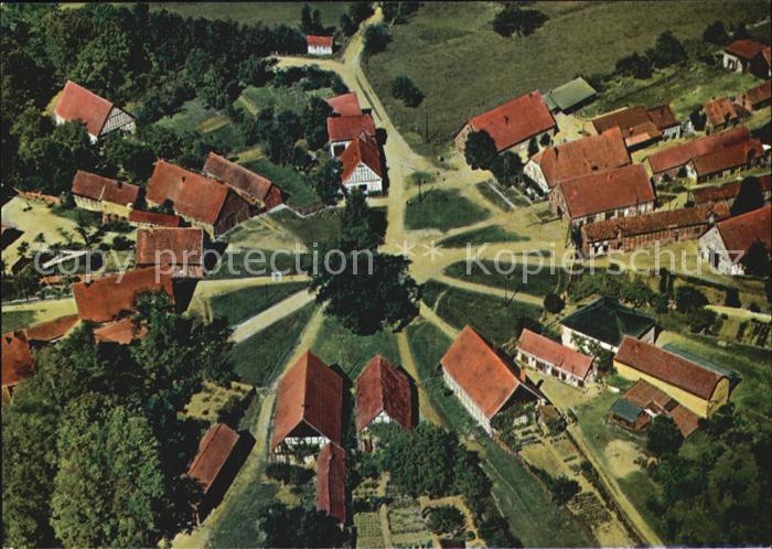 Schreyahn Fliegeraufnahme Kat. Wustrow (Wendland)