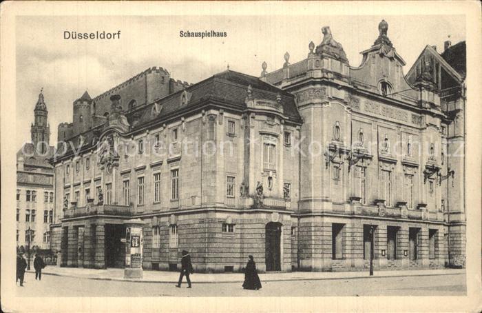 Duesseldorf Schauspielhaus Kat. Duesseldorf