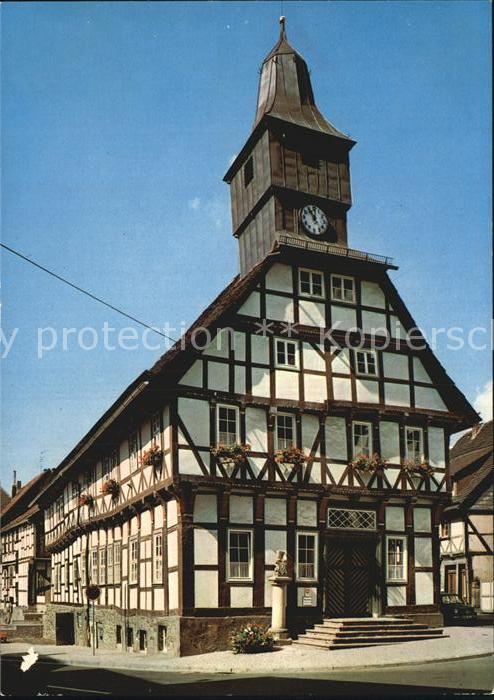 Uslar Solling Altes Rathaus Kat. Uslar