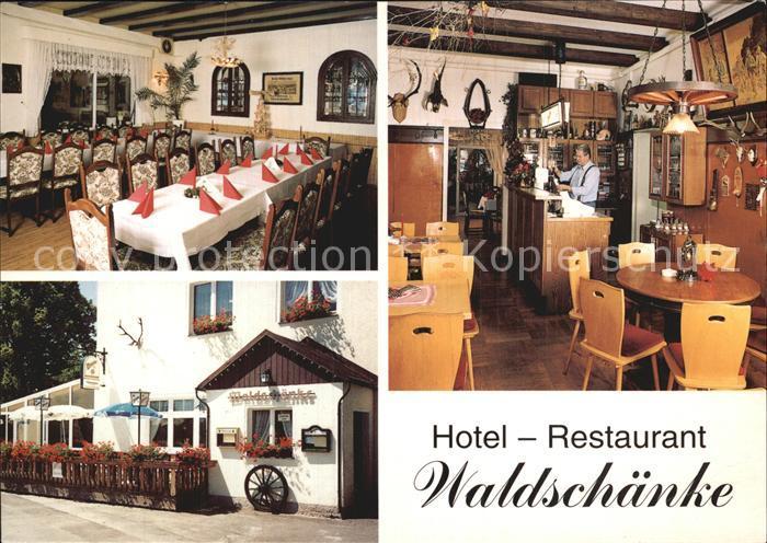 Lindenau Schneeberg Hotel Gaststaette Waldschaenke Kat. Schneeberg ...