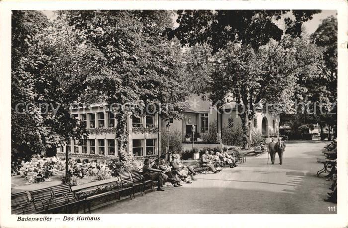 Badenweiler Kurhaus Kat. Badenweiler