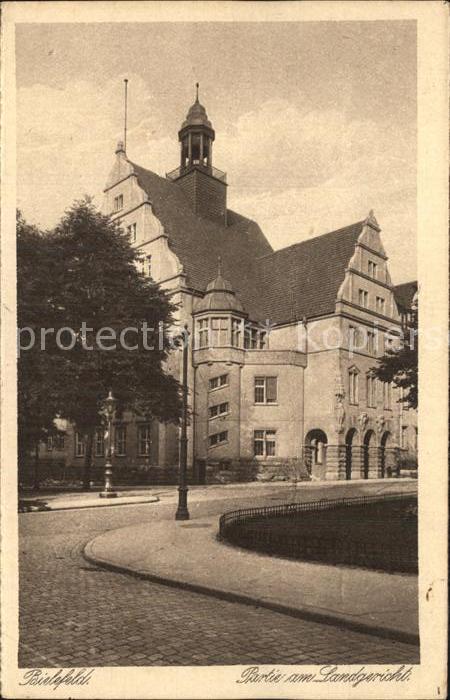 Bielefeld Partie am Landgericht Kat. Bielefeld