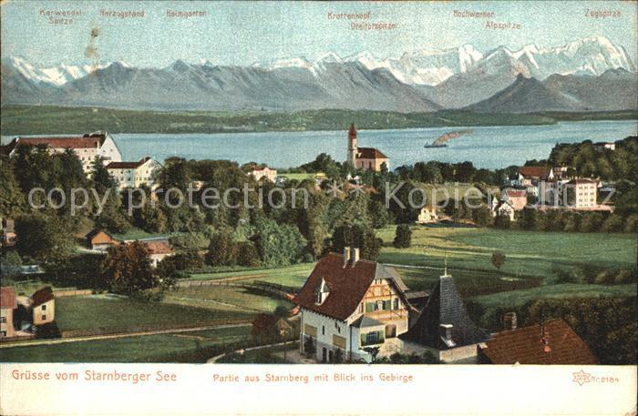 Starnberg Starnberger See Gebirge Kat. Starnberg