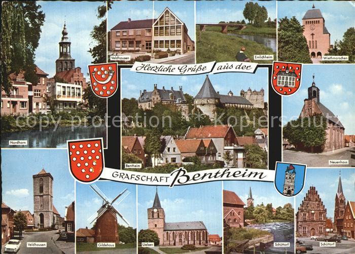 Bentheim Bad Nordhorn Neuenhaus Schuettorf Uelsen Gueldehaus Kat. Bad Bentheim