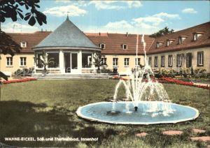 Wanne Eickel Sol Thermalbad Innenhof Springbrunnen Kat. Herne