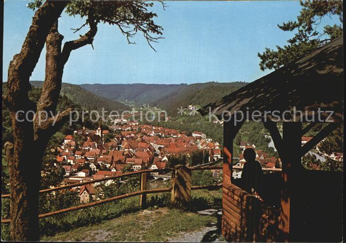 Sulz Neckar Aussichtspunkt Kat. Sulz am Neckar