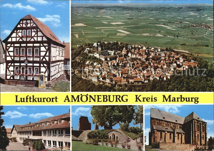 Amoeneburg Fachwerkhaus  Kat. Amoeneburg