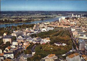 Vichy Allier Panorama sur la ville et son lac d Allier vue aerienne Kat. Vichy
