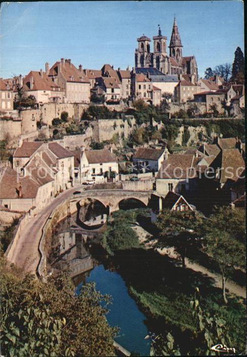 Semur en Auxois Vieux Quartier et Eglise Kat. Semur en Auxois