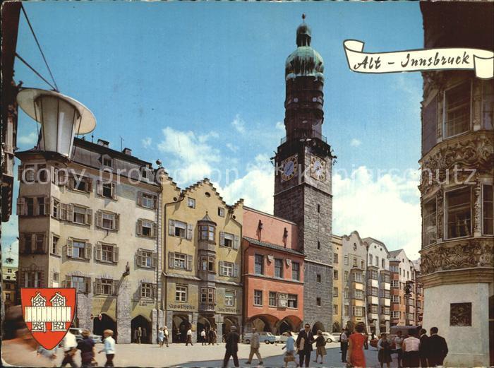 Innsbruck Altstadt Herzog Friedrich Str Buergerhaeuser Mit Altem