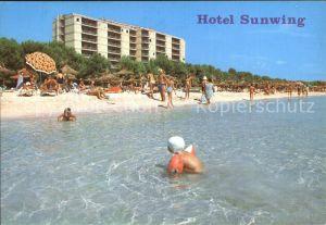 Bahia de Alcudia Hotel Sunwig Strand