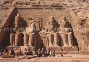 aegypten The temple of Abu Sembel Kat. aegypten