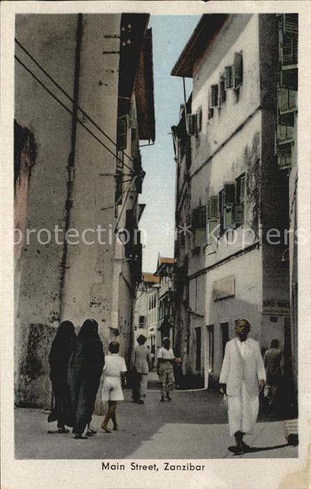 Zanzibar Main Street Kat. Zanzibar