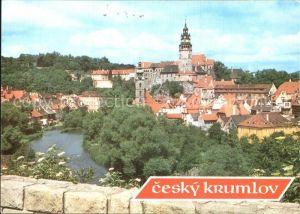 Cesky Krumlov Panorama Kat. Krumau