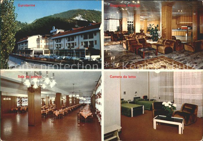 Bagno di Romagna Euroterme sala da pranzo soggiorno camera da letto