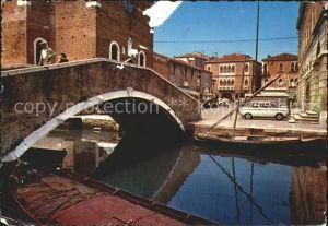 Chioggia Venetien Piazzetta XX Settembre den XX September Platz