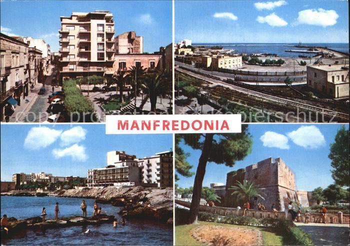 Manfredonia Stadtansichten