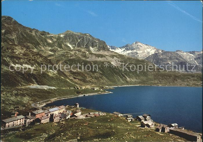 Montespluga Berglandschaft am See
