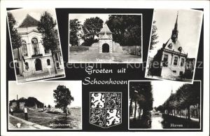Schoonhoven Veerpoort Stadhuis Haven Noodhaven