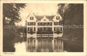 Staverden Schloss Teich
