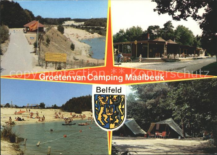 Belfeld Camping Maalbeek Strand Restaurant Wappen