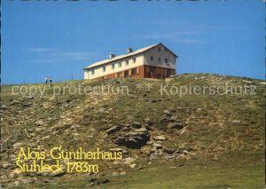 Steinhaus am Semmering Alois Guenther Haus Stuhleck