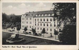 Ralibor Horst Wessel Platz Gedenkstein /  /