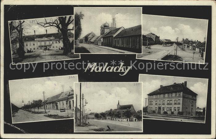 Malacky Orts und Teilansichten /  /